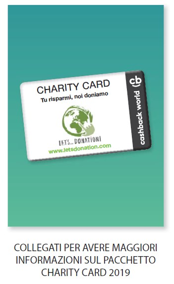 Charity Card Pacchetto Let's Donation